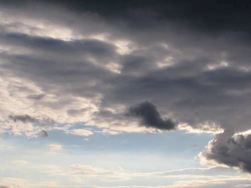 Clouds Sky Dark Clouds Weather Front