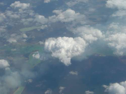 Clouds Weather Aerial View Atmosphere Flying