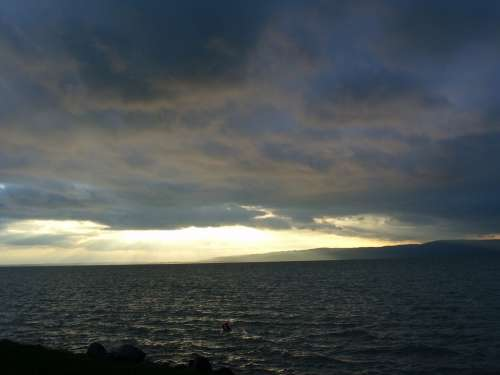 Clouds Lake Gray