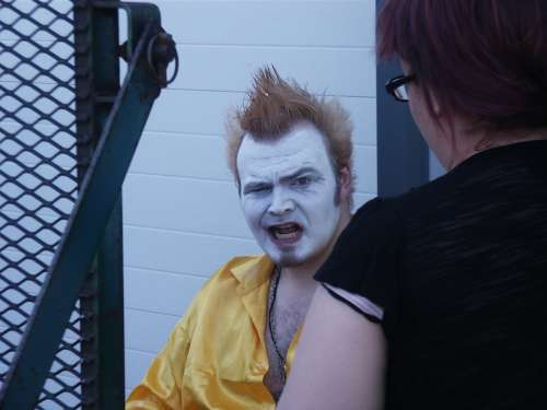 Clown Makeup Artist Face Entertainment Creepy