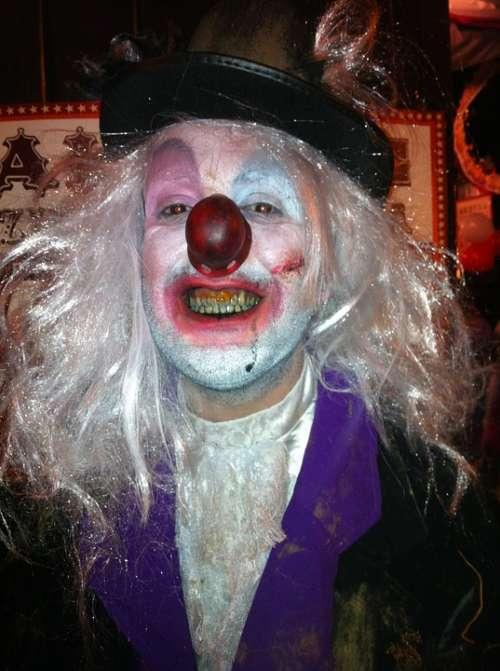 Clown Halloween Bad Clown Carnival Costume