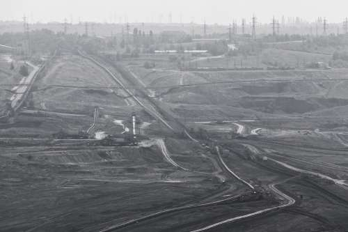 Coal Construction Damage Destruction Dust Ecology
