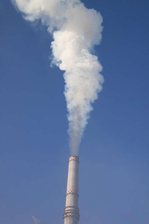 Coal Electricity Energy Plant Power Smoke Spews