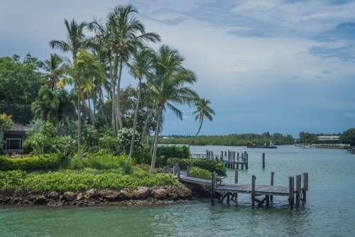 Coast Florida Beach Ocean Water