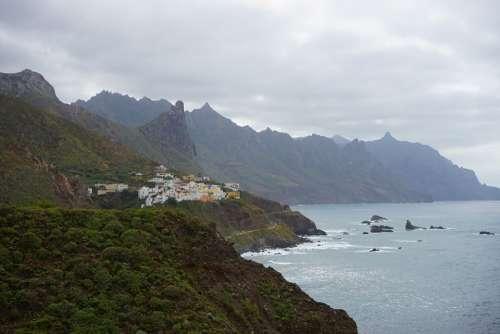 Coast Island Sea Rock Tenerife