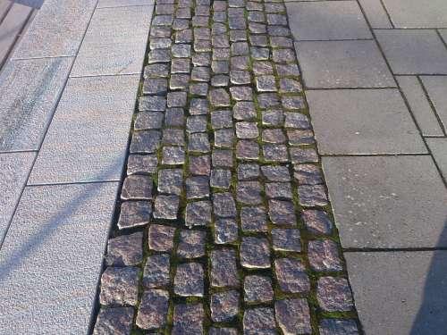 Cobblestone Tile Texture Pattern Gray Light Gray