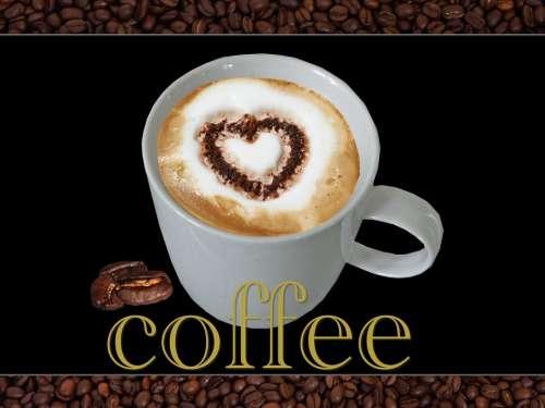 Coffee Heart Coffee Beans Love Coffee Hot Love