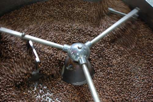 Coffee Roasting Bean Grilled