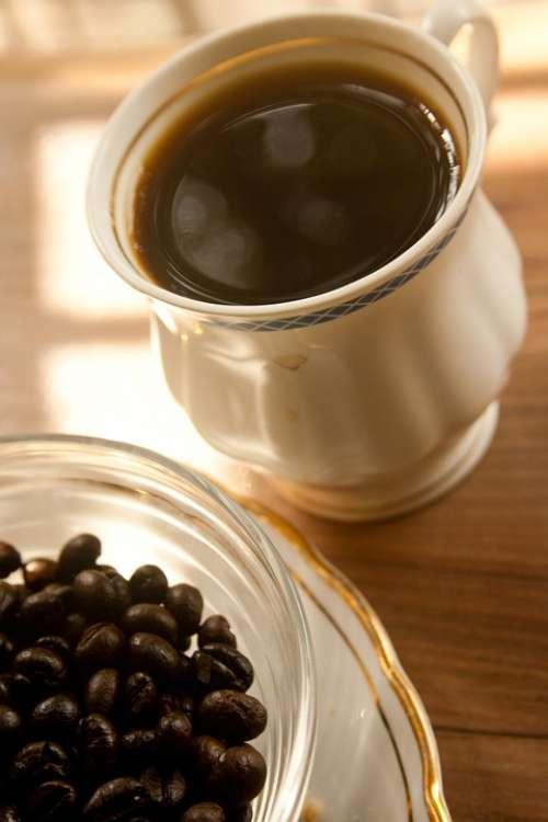 Coffee Coffee Beans Roasted Aroma Brown Caffeine