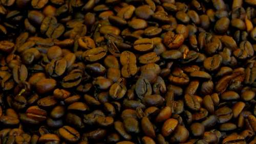 Coffee Beans Coffee Brown Roasted Aroma Black