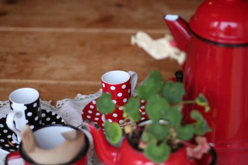 Coffee Mug Cup Kettle