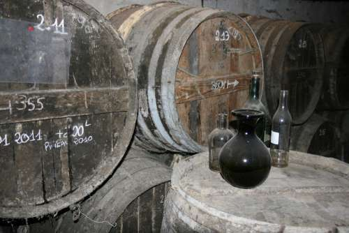 Cognac Barrel Alcohol Vintage Strong Old