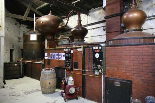 Cognac Production France French Vintage Warehouse