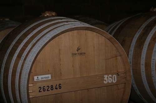 Cognac Barrel Brand Vintage Alcohol Expensive