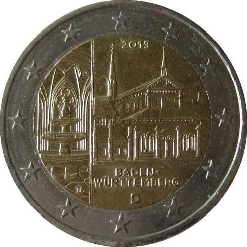Coin 2 Euro Baden Würtemberg 2013