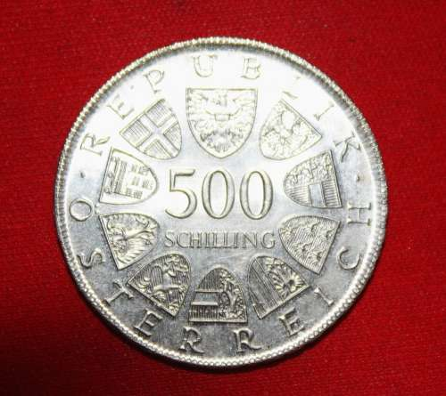 Coin Schilling Silver Currency