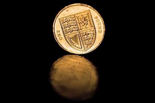 Coins Pound British Empire Money British Gold