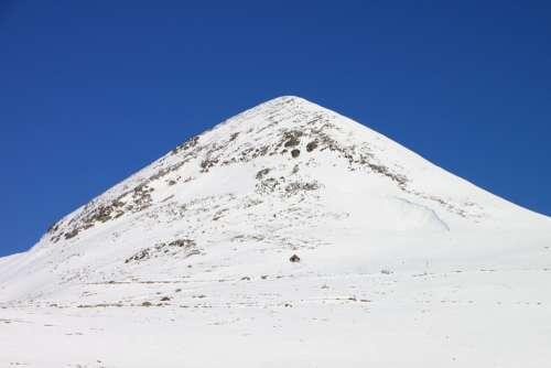 Cold Mountains Papusa Peak Retezat Snow Top