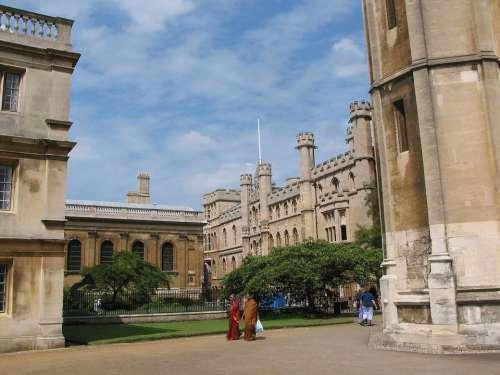 Colleges Cambridge University Architecture Building