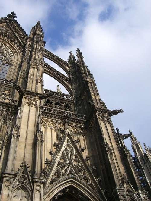Cologne Dom Facade Cologne Cathedral Landmark
