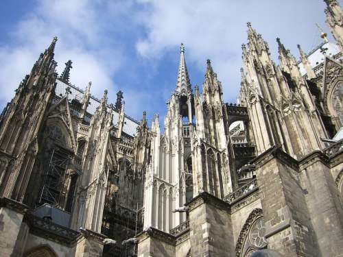Cologne Dom Facade Cologne Cathedral Landmark