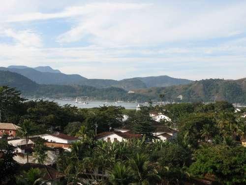 Colonial Paraty Brazil