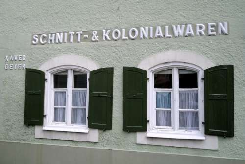 Colonial Greding Altmühl Valley House Facade
