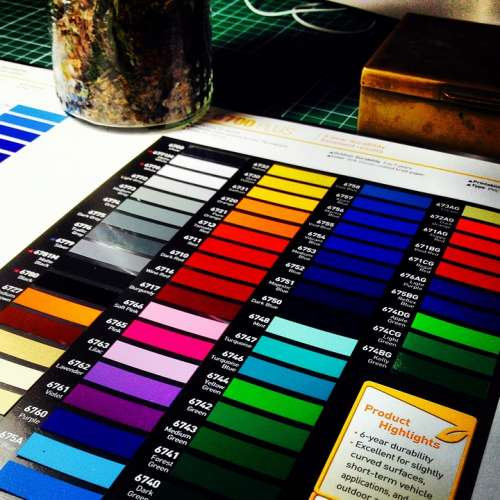Colors Pantone Design