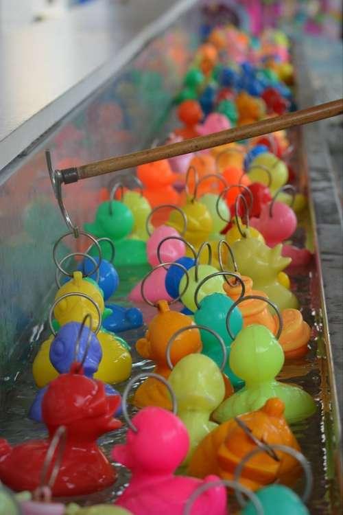 Colors Ducklings Funfair