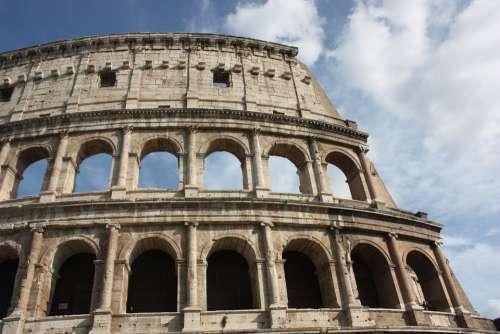Colosseum Ancient Rome Roman Coliseum Ancient Rome
