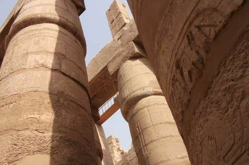 Columnar Temple Egypt Luxor Places Of Interest