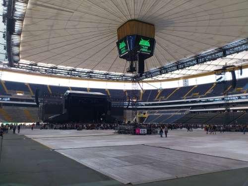 Concert Live Concert Commerzbank Arena Stage