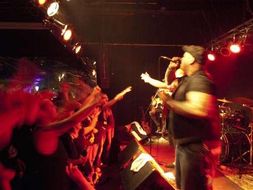 Concert Underground Rock Band Sound Musician