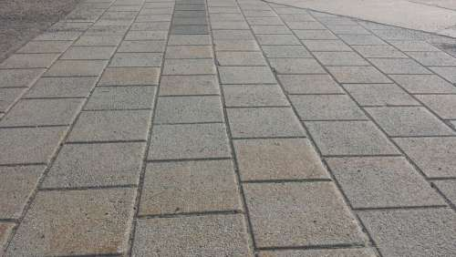 Concrete Tiles Ground Cement Square Floor