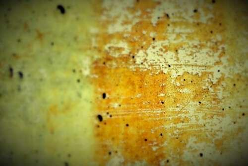Concrete Wall Grunge Yellow Wall Damaged Paint