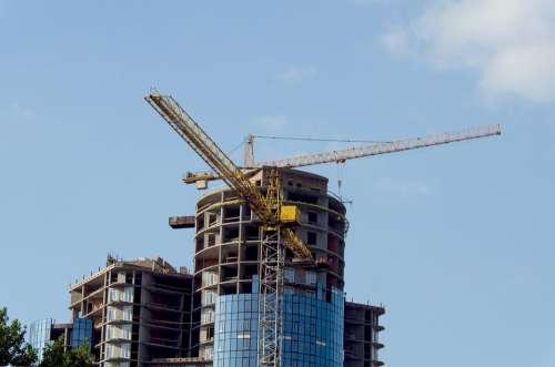 Construction Building Crane Hoisting Jib Crane City