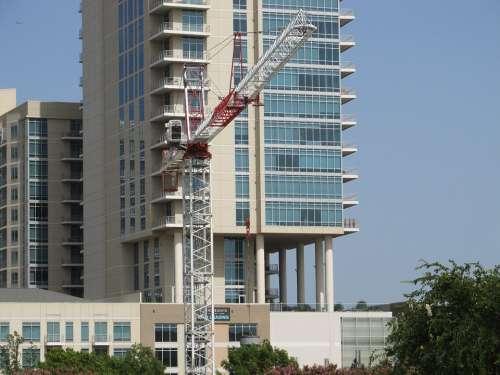 Construction Crane Crane Construction Building Site
