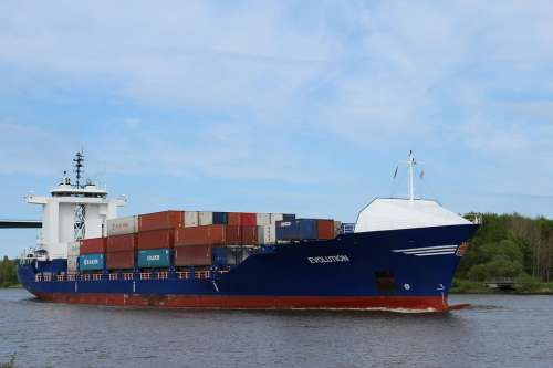 Container Ship Ship Freighter Container Nok