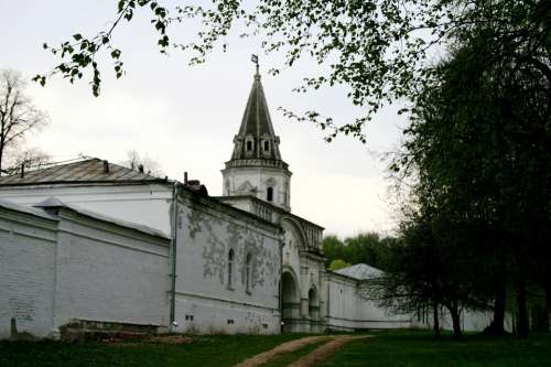 Convent Building Architecture Religious White