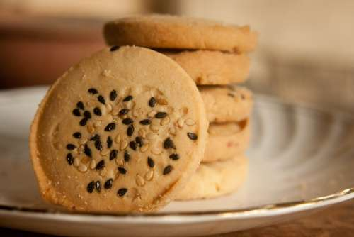 Cookies Baked Biscuits Sweets Snack Delicious