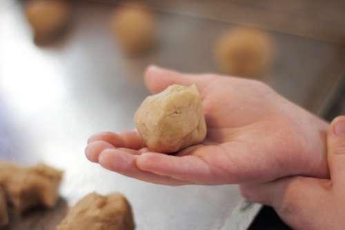 Cookies Baking Children Child Bake Food Tasty