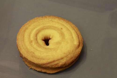 Cookies Eat Food Fragrant Tasteful Sugared Baked