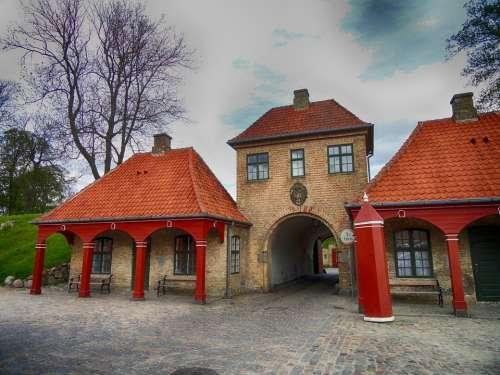 Copenhagen Denmark Gate Park Landmark Destinations