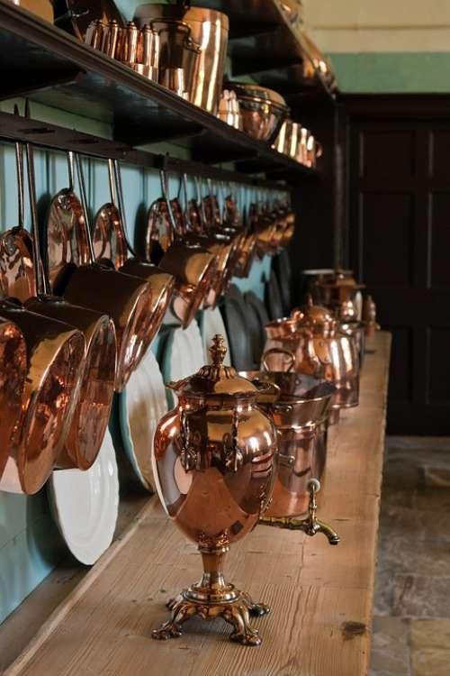 Copper Samovar Copper Utensils Kitchen Ornate Shiny