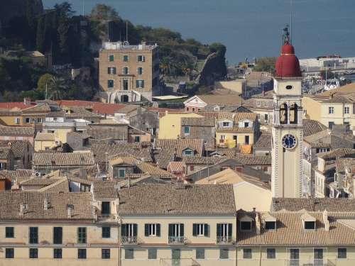 Corfu Corfu Town Kerkyra Buildings Architecture