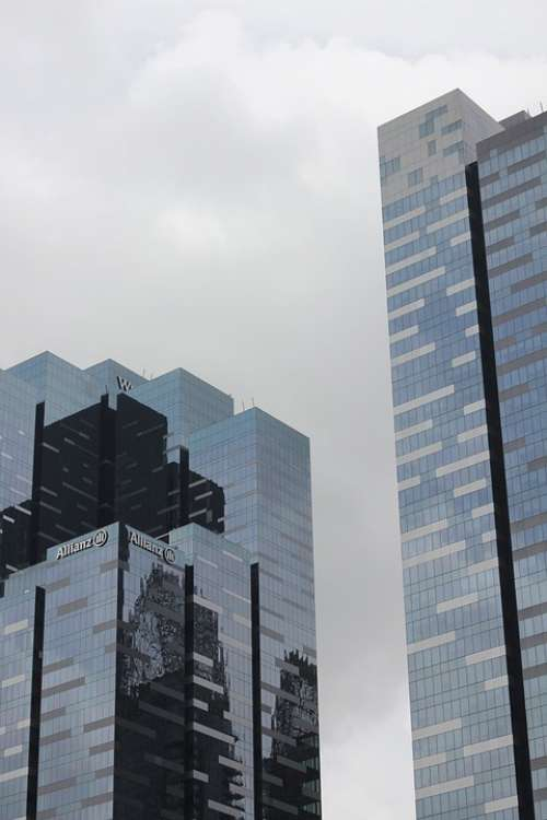 Corporate Building Insurance Company Cityscape