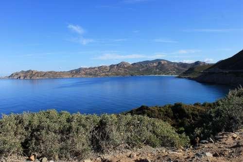 Corsican Maquis Island Island Of Beauty Landscape
