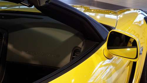 Corvette Yellow 2011 Auto Corvette Vehicle Machine