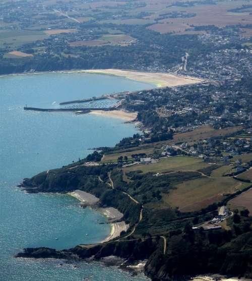 Côtes D'Armor Brittany France Aerial View Landscape