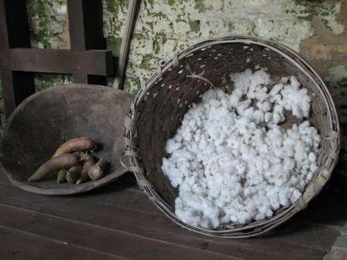 Cotton Yams Basket